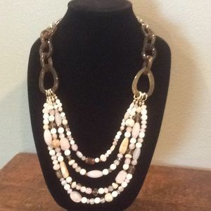 Chico's Long Multi-strand Necklace